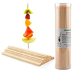 BBQ BAMBOO SKEWERS FOR SHISH KABOB