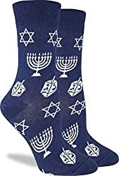Good Luck Women's Hanukkah Crew Socks