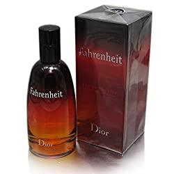 Fahrenheit By Christian Dior For Men. Eau De Toilette Spray Red, 3.4 Oz.